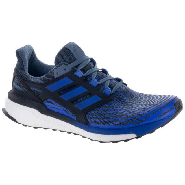 le dernier 7feb8 4e393 Men's adidas Energy BOOST Running Shoes Blue/Black/White CP9539 SZ 7.5