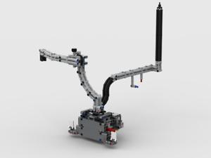 RBi Bauanleitung 42054 Ansaugrüssel Eigenbau Claas MOC aus LEGO® Steine