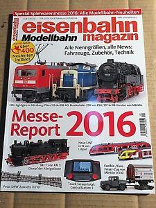 TOP Eisenbahn Magazin Modellbahn Spezial Spielwarenmesse 2019 ungelesen 1A abs