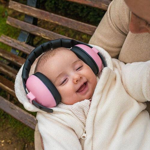 Kids childs baby ear muff defender noise reduction comfort festival protectio bg
