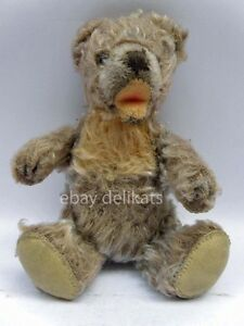Antique-Vintage-STEIFF-vecchio-ORSO-orsetto-TEDDY-BEAR-button-17-cm