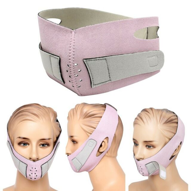 Face Firming Mask Lifting Tighten Chin Cheek Slimmer Anti-Wrinkle Belt Bandage