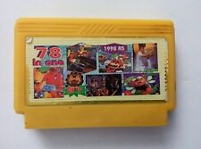 5 in 1 games( SUPER MARIO, LEGEND OF KAGE  ETC)- Famicom Famiclone Nes Cartridge