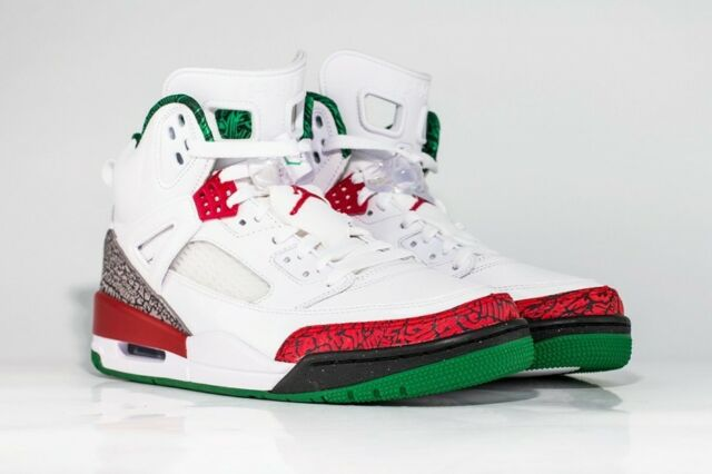 official photos c3bde a9620 ... NIKE AIR JORDAN SPIZIKE HISTORY UK 11 CEMENT RED OG, Jordan 5, 6, ...