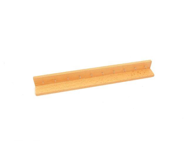 NEW Montessori Mathematics Material - Wooden Short Bead Chain Frame