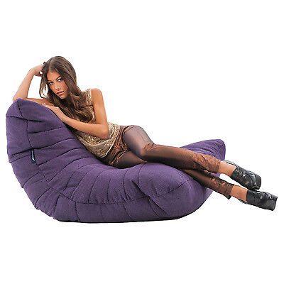 Phenomenal Purple Acoustic Sofa Bean Bag Purple Beanbag Comfortable Sofa Excellent Design Ebay Andrewgaddart Wooden Chair Designs For Living Room Andrewgaddartcom