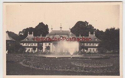 (f11709) Orig. Foto Schloss Pillnitz B. Dresden 1931