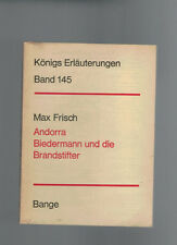 Max Frisch - Andorra Biedermann und die Brandstifter