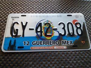 9 USA Nummernschild Mexico