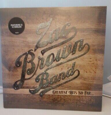 Zac Band Brown Greatest Hits So Far 2 Vinyl Lp New