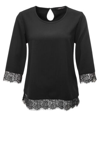NEU Only Damen Langarmshirt Blusenshirt Bluse Shirt Tunika Chic Elegant Business