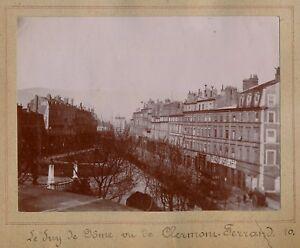 CLERMONT-FERRAND-1899-Boulevard-et-Puy-de-Dome-14