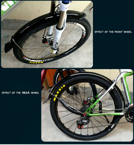 Mountain Road Bike Bicycle Tire Front Rear Mudguard Fender Set Mud Guard 1 PC