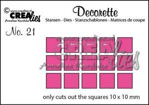 Crealies-Decorette-Nr-21-Only-squares-CLDR21-Stanzschablone-Quadrate