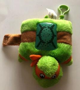 details about tmnt michaelangelo pillow pets dream light up plush teenage mutant ninja turtle