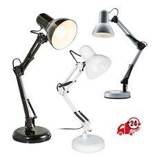Lámpara de escritorio tipo arquitecto, flexo LED halógena brazo articulado