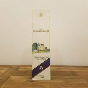 Macallan-1967-18-Year-Old-EMPTY-BOX-RARE-750mL-EMPTY-BOX