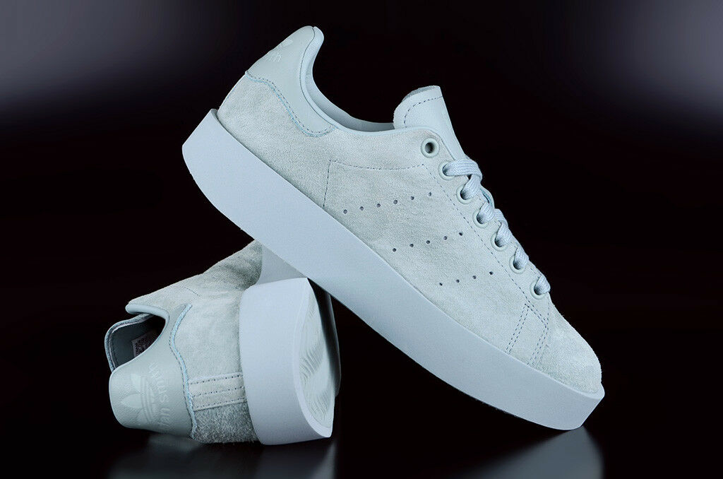 ADIDAS ORIGINALS STAN SMITH BOLD TACTILE GREEN SNEAKER PLATEAU SCHUHE