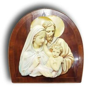 Decorative Arts Sweet-Tempered Nativity Terracotta Ceramics 50 Years Design Giovanni Magri Signed Last Style