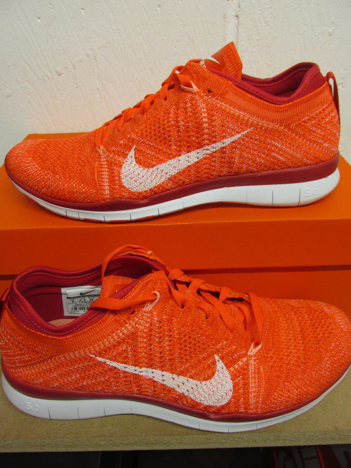 nike womens free TR flyknit running trainers 718785 601 sneakers shoes Wild casual shoes