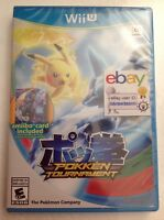 Pokken Tournament Nintendo Wii U Includes Shadow Mewtwo Amiibo Card Pokemon