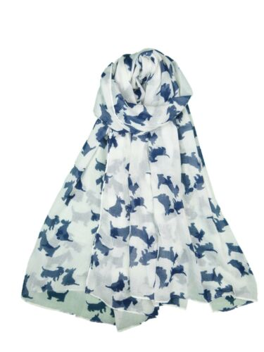 DOG SCARF WESTIE  WEST HIGHLAND TERRIER LADIES SCARF SOFT QUALITY 7 COLOURS