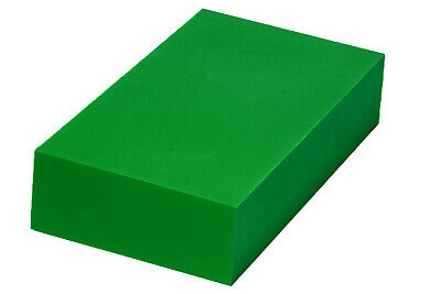 """- 1.5/"""" x 6/"""" x 12/"""" ABS Sheet Plastic Block for Machining Red"""
