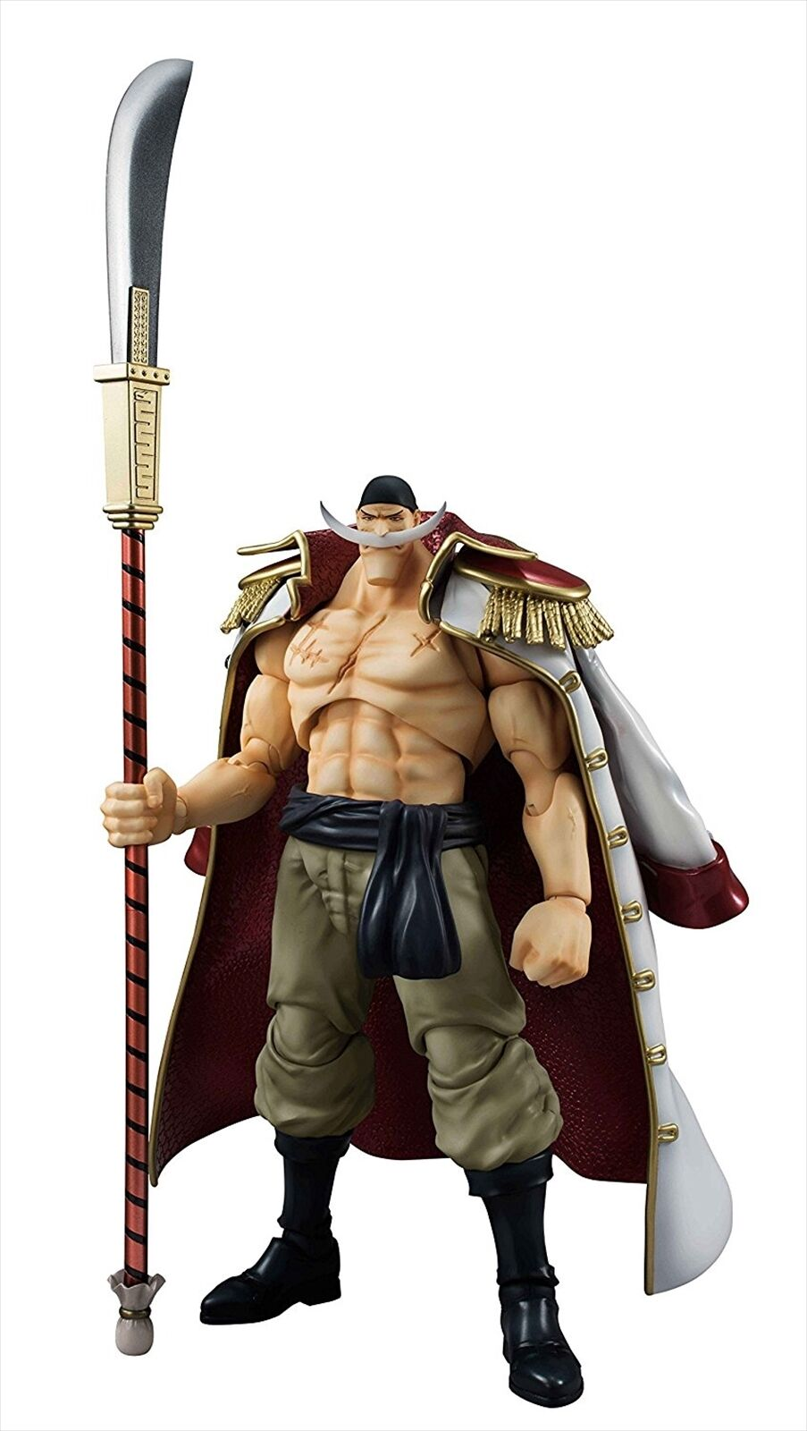 Megahouse VAH Variable Action Heroes One Piece Weiß Beard Edward Newgate Figure