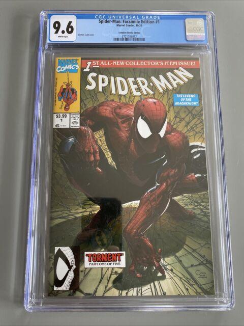 Spider-Man: Facsimile Edition #1 Scorpion Comics Edition-Clayton Crain Cover