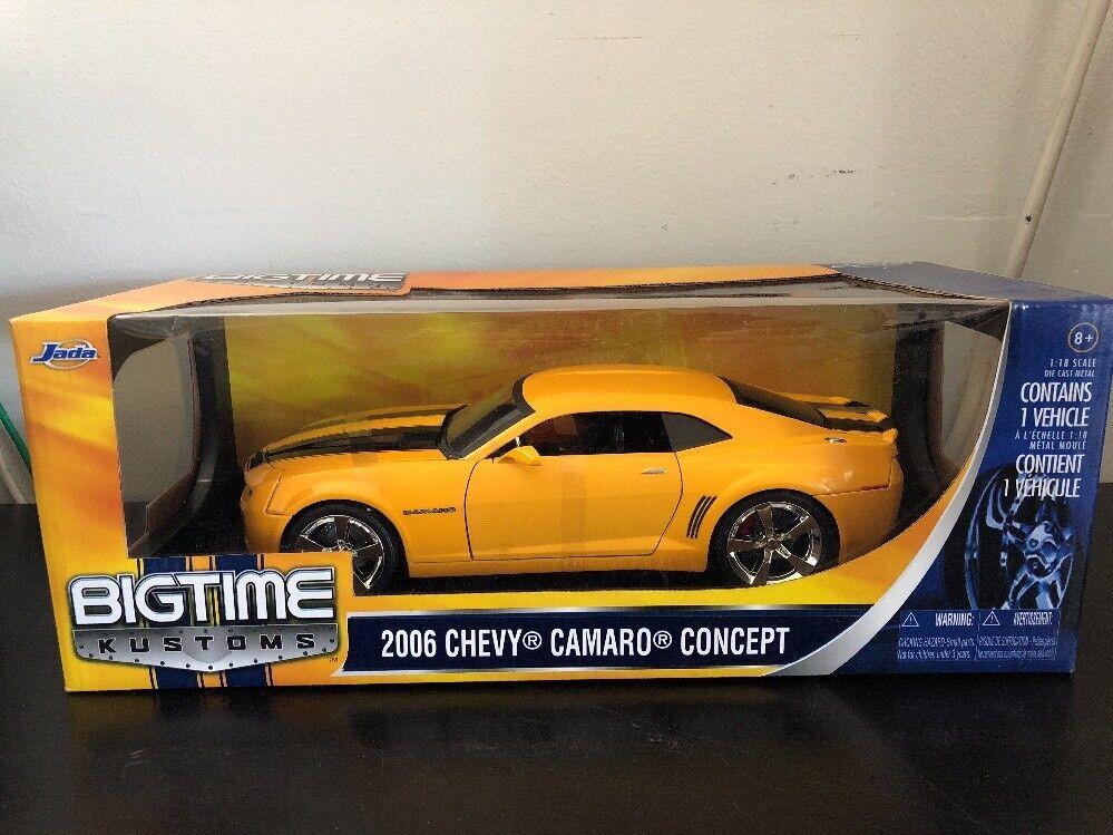 Bumblebee Giallo Bigtime Muscolo 2006 Chevy Camaro Concept 1:18