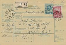 Post-Begleitadresse 1916 aus Belcitz an die Feldpost 48  (C8)