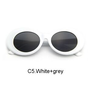 4d4905f6e90 Image is loading Kurt-Cobain-Clout-Goggles-Sunglasses-Rapper-Oval-Shades-