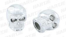 0.330.901/0 Ventilkappen Skull Chrom Kunststoff Harley Davidson 1 Paar