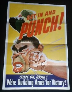 Details about 1942 WW2 USA AMERICA JAPAN GENERAL TOJO FLAG ARMY PACIFIC WAR  PROPAGANDA POSTER