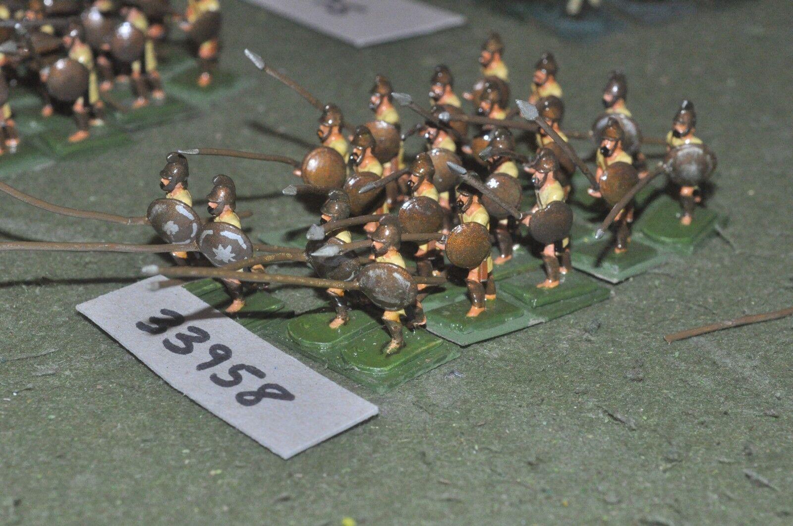25mm classical   macedonian - pikemen 20 figures - inf (33958)