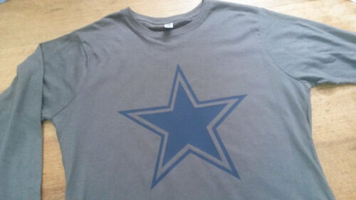 Star Pop Art Long Sleeve T-shirt Top Rare 70s 60s Vintage Style Mr Freedom