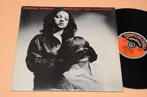 RACHEL-SWEET-LP-PROTECT-THE-INNOCENT-1-ST-ORIG-PUNK-1980-AUDIOFILI-TOP-NEAR-MINT