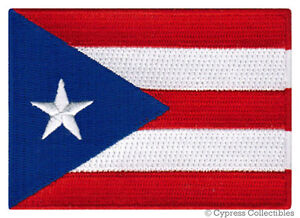 PUERTO-RICO-FLAG-embroidered-iron-on-PATCH-RICAN-EMBLEM-applique-NEW