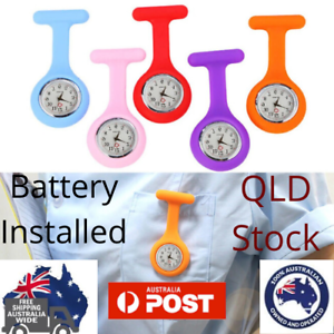 Silicone-Nurse-Brooch-Tunic-Watch-Nursing-Nurses-Pendant-Pocket-Watch