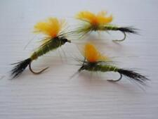 1 DZ D16-1 RS2 EMERGER BLUE WING OLIVE/'S DRY FLIES  *AWESOME* SIZES AVAILABLE