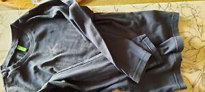 United Color of BENETTON blau langarm T-Shirt Gr. 142 (8 Jahre)
