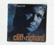 Cliff Richard SEALED 3-INCH-cd-maxi LEAN ON YOU Extended Mix 8.15 Min. +2 © 1989