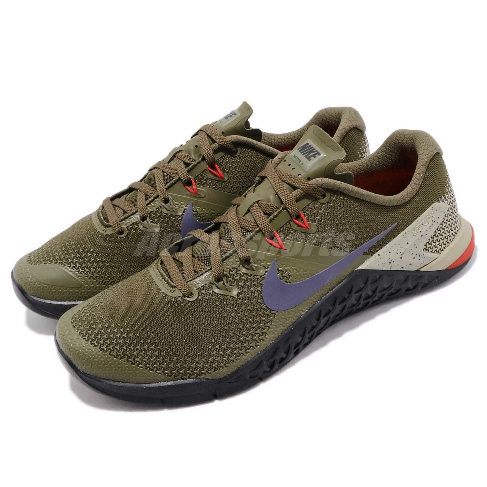 Nike Metcon 4 IV Olive Canvas Indigo Burst homme Cross Training chaussures AH7453-342