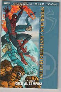 SPIDER-MAN-amp-FANTASTICI-QUATTRO-CRISI-AL-CAMPUS-Marvel-Panini-Comics