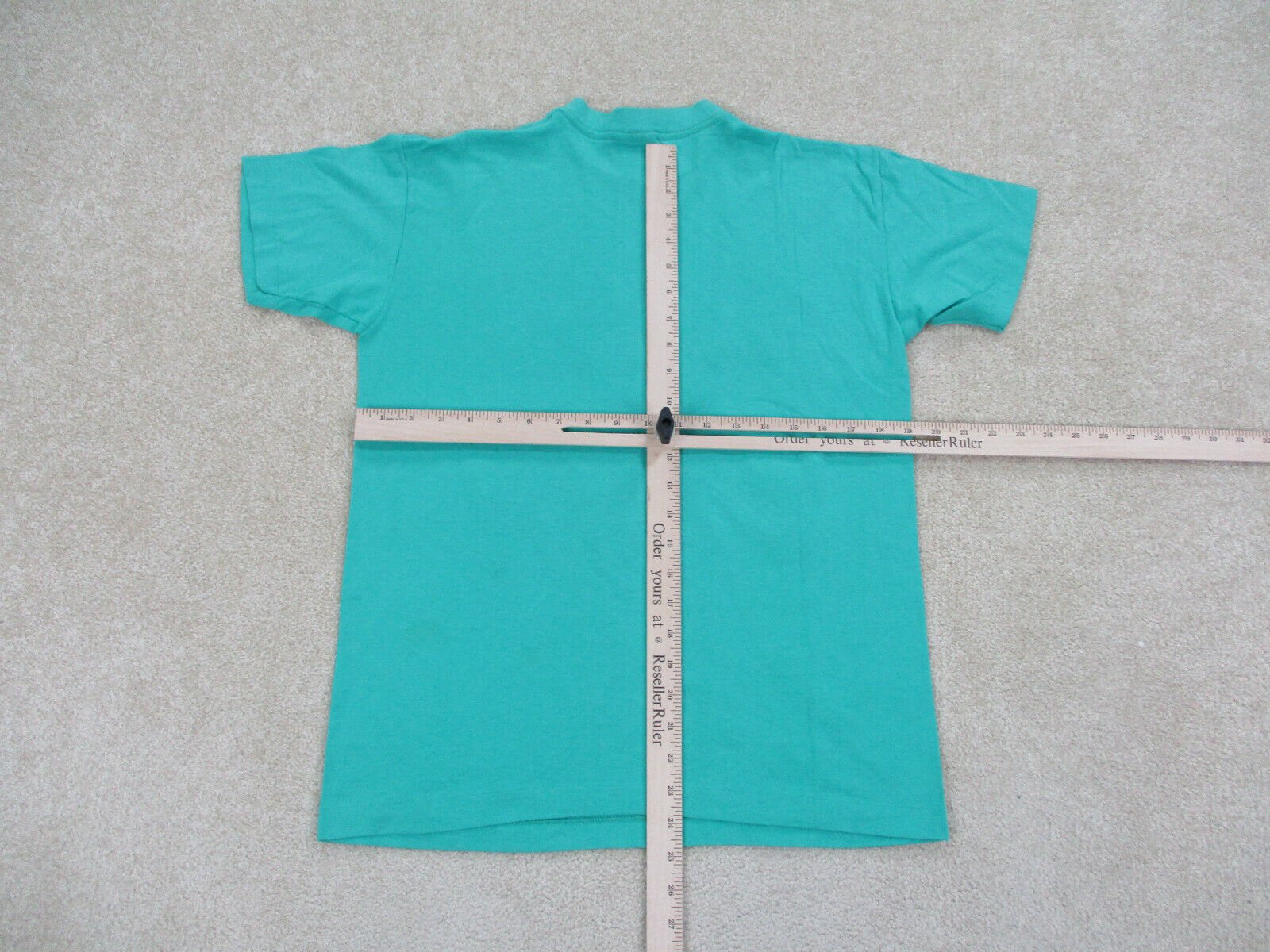 VINTAGE Converse Shirt Adult Medium Green Red Chu… - image 5