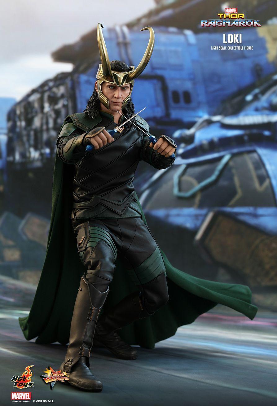 (US) Hot Toys 1 6 Marvel Thor  Ragnarok MMS472 MMS472 MMS472 Loki Laufeyson 12  Action Figure 6821af