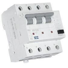 SEZ FI/LS RCBO B16A 30mA 10kA 4p Leitungsschutzschalter Fi-Schalter Kombi (9951)