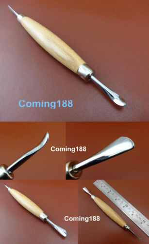 1pc Leather Craft Carving Modelling Spoon /& Carving Blade Tool for Leather /& PMC