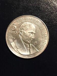 Pièces Argent 5€ San Marino 2004