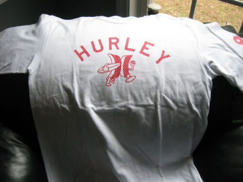 HURLEY Men/'s T-Shirts Cotton,Crew Neck,Short or Long Sleeve MSRP-$20.-$25.00
